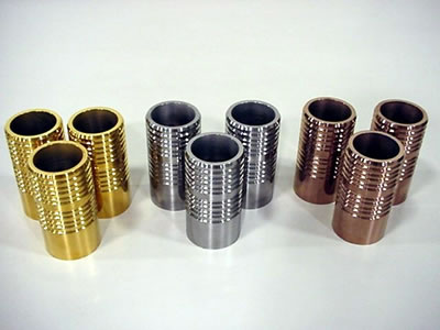 Bead Rolls- Three Different Coatings